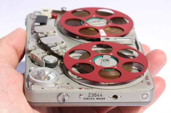 Field Work: This early Nagra handheld tape recorder exemplifies the connection between efficiency and design