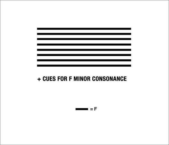 Sol Lewitt–inspired F drone score, which was first performed at M - Museum inside a Sol LeWitt exhibition