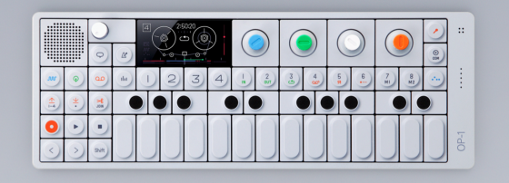 Teen Dreams: The OP-1, introduced in 2011, design-wise a feature-packed homage to the Casio era