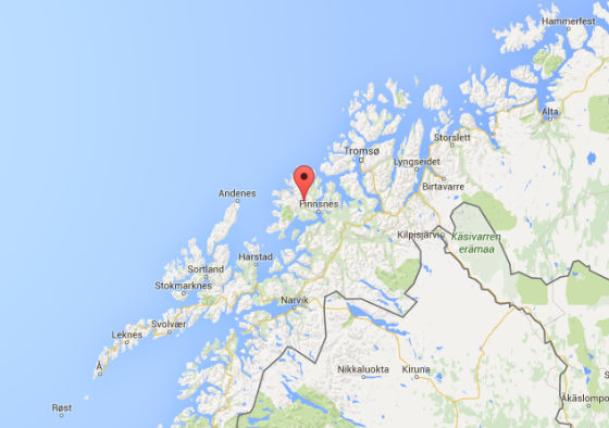 Island Life: Map of Senja, Norway, home to the musician Biosphere