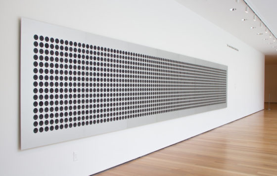 01 - Tristan Perich - Microtonal Wall at MoMA