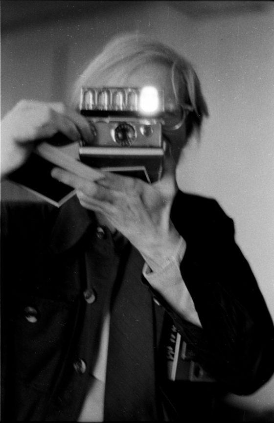 Anton Perich - Warhol, polaroid - 1971